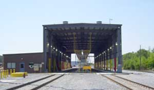 Norfolk Southern Locomotive Service Facility