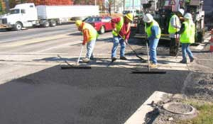 Road Widening - geotechnical consulting, CMT, inspection services